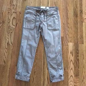 Anthropologie Hei Hei Khaki Pants Sz 27